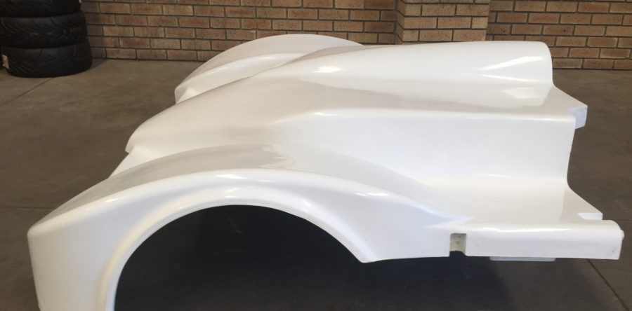 Pre-production body panels manufactured
